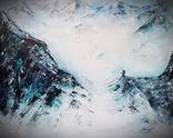 Himalaya 92x73 - olej na płótnie / Na sprzedaż