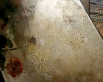 WZ16 / różnokolorowe lustra postarzane - odcienie szare oraz złote
