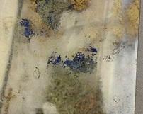 różnokolorowe lustra postarzane - Odcienie złote, niebieskie oraz oksydowane