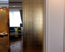 Fronty ręcznie pozłacane szlagmetalem /imitacja złota/