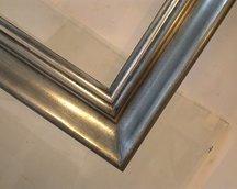 rama aluminium i patyna