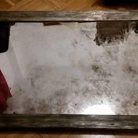 Realizacja 2017 lustro postarzane z ramą Hotel Zawrat Białka Tatrzańska