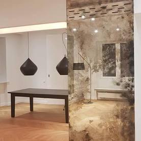 Lustro postarzane Salon /2,88 x 1,11 cm/ - Mokotów 2018
