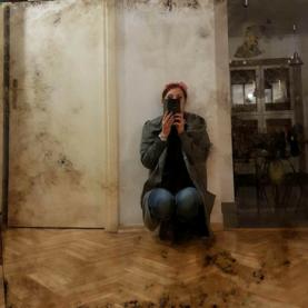 Realizacja 2017 lustra postarzane odcień chłodno-ciepły - Nicea FR