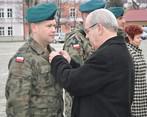 Odznaczony Medalem XXX-lecia ppłk Dariusz Czekaj