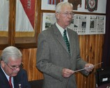 Prezes Koła Nr 4 płk rez. Józef Koza