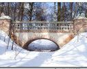 Most w parku pałacowym  Dwór Sobianowice
