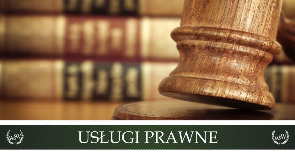 Potrzebujesz porady prawnej, sporządzenia umowy lub pisma? Zastanawiasz się czy potrzebny jest Ci adwokat, radca prawny lub inny prawnik? Zapraszamy do współpracy...