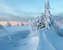 Karkonowska zima.
