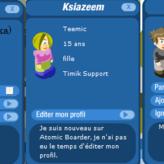 Przykładowe 3 profile na Francuskim Timiku.