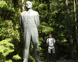 Gruto Parkas - z Leninem