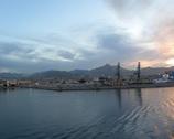 Prom - widok na Palermo