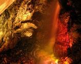 Wodospad w kopalni