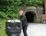 Przed wjazdem do kopalni