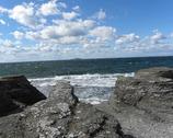 Raukar Byruma - wapienne skały