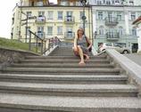 Wilno - schody Miłosza