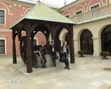 Lublin - dziedziniec zamku