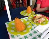 Syrakuzy - arancini i cannoli