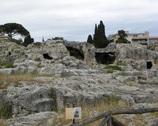 Syrakuzy - grób Archimedesa