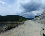 Transalpina - odcinek bez asfaltu