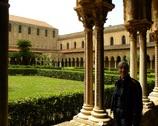 Monreale - katedra krużganki