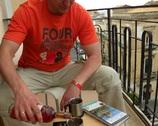 Ortiga - balkonik i kolejne winko