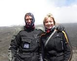 Etna - ale było zimno i wiało