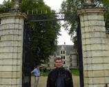 zamek Azay le Rideau - zza bramy