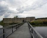 Vaxjo - ruiny zamku Kronoberg