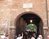 Werona - wejście na podwórko Julii