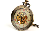 Zegarek retro na rzemieniu