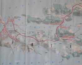 Mapa wyspy.
