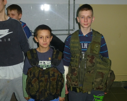 Zajęcia edukacyjno - wychowawcze z organizacją Strzelec z Suwałk