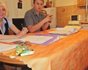 Walne zebranie członków Stowarzyszenia Przyjaciół Domu Dziecka w Pawłówce