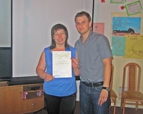 Rozdanie certyfikatów za aktywny udział w Ogólnopolskiej Kampanii Zachowaj Trzeźwy Umysł 2012