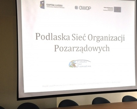 Seminarium Podlaska Sieć Pozarządowa