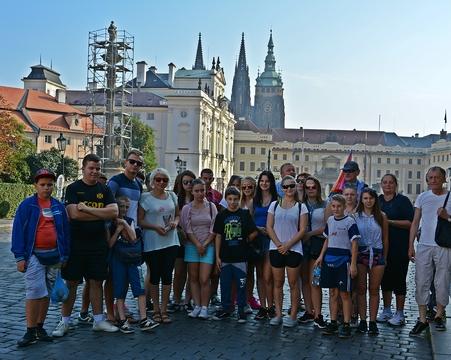 Wyjazd  edukacyjno - wychowawczy do Pragi 9-12 września 2016 roku