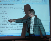 """""""Jak zarządzać domowymi finansami """" 1XII 2012 Przystanek Kultura w Piasecznie"""