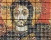 """wzór """"Jezus z przyjacielem"""" część 2"""