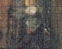 """wzór """"Jezus z przyjacielem"""" część 4"""