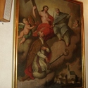 Obraz Adoracji Boga Ojca i Chrystusa z końca XVIII wieku