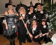 czarownice z Wojsławia gotowe do odlotu na zlot do Ośieka Grodkowskiego