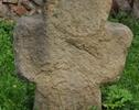 Średniowieczny krzyż pokutny, postawił go podobno młodzieniec który zastrzelił swoją żonę strzelając na wiwat.