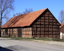 Zabytkowa stodoła w Wojsławiu