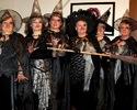 Wojsławskie czarownice gotowe do odlotu na zlot.