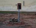 po gospodarstwie pozostała tyko studnia