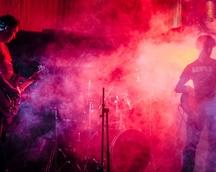 21.06.14 Koncert PAN KROK i SALETRA, Puławy -  Kawiarnia Smok