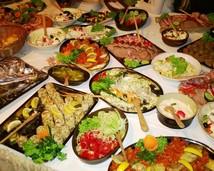 a jadło się tradycyjne jadło....