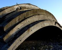 bunkry poradzieckie na lotnisku Krzywa