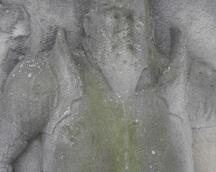 późnorenesansowe całopostaciowe płyty nagrobne z pierwszej połowy lat pięćdziesiątych XVIIw.